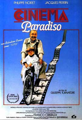 Cinema Paradiso - 11 x 17 Movie Poster - Spanish Style A