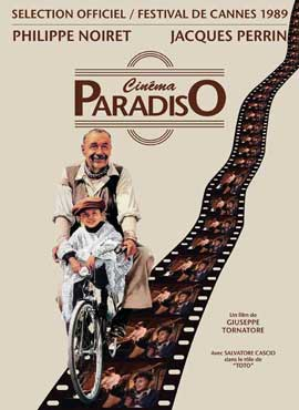 Cinema Paradiso - 27 x 40 Movie Poster - French Style B