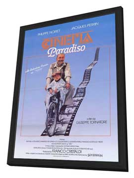 Cinema Paradiso - 11 x 17 Movie Poster - Style A - in Deluxe Wood Frame