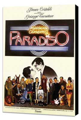 Cinema Paradiso - 27 x 40 Movie Poster - Style A - Museum Wrapped Canvas