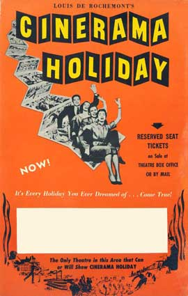Cinerama Holiday - 27 x 40 Movie Poster - Style A