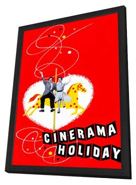 Cinerama Holiday - 11 x 17 Movie Poster - Style A - in Deluxe Wood Frame