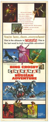 Russian Adventure - 43 x 62 Movie Poster - Bus Shelter Style A