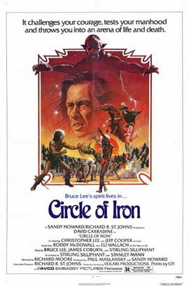 Circle of Iron - 11 x 17 Movie Poster - Style B