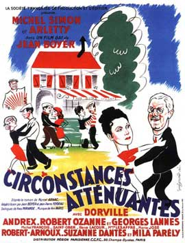 Circonstances attenuantes - 11 x 17 Movie Poster - French Style A
