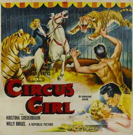 Circus Girl - 30 x 30 Movie Poster - Style A