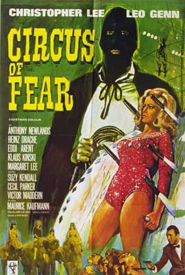 Circus of Fear - 11 x 17 Movie Poster - Style B