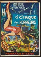 Circus of Horrors - 27 x 40 Movie Poster - Belgian Style A
