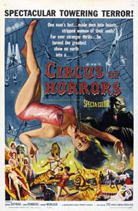 Circus of Horrors - 27 x 40 Movie Poster - Style A
