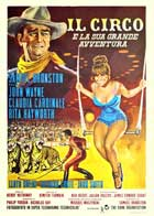 Circus World - 11 x 17 Movie Poster - Italian Style A