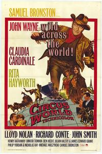 Circus World - 43 x 62 Movie Poster - Bus Shelter Style A