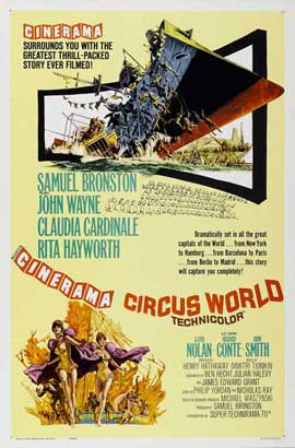 Circus World - 27 x 40 Movie Poster - Style B