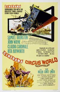 Circus World - 43 x 62 Movie Poster - Bus Shelter Style B