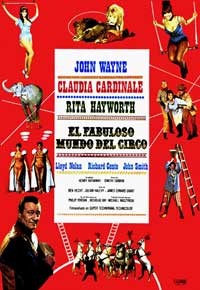 Circus World - 11 x 17 Movie Poster - Spanish Style A