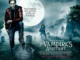 Cirque Du Freak - The Vampire's Assistant - 30 x 40 Movie Poster UK - Style A