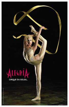 Cirque du Soleil - Alegria� - 11 x 17 Poster - Manipulation Act