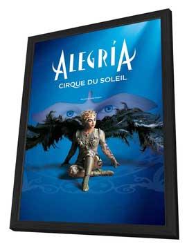 Cirque du Soleil - Alegria� - 24 x 36 Cirque du soleil Poster - in Deluxe Wood Frame