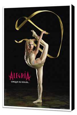 Cirque du Soleil - Alegria� - 11 x 17 Poster - Manipulation Act - Museum Wrapped Canvas