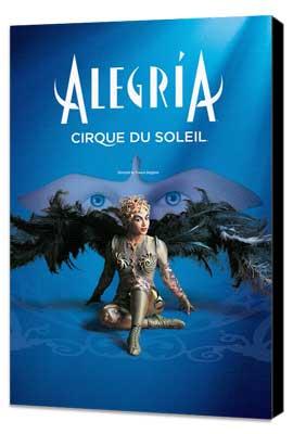 Cirque du Soleil - Alegria� - 24 x 36 Cirque du soleil Poster - Museum Wrapped Canvas