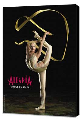 Cirque du Soleil - Alegria� - Cirque du Soleil - Alegria� - 24 x 36 Poster - Manipulation Act - Museum Wrapped Canvas