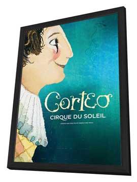 Cirque du Soleil - Corteo� - 24 x 36 Cirque du soleil Poster - in Deluxe Wood Frame