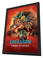 Cirque du Soleil - Dralion� - 11 x 17 Cirque du Soliel Poster - in Deluxe Wood Frame