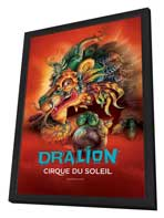 Cirque du Soleil - Dralion - 24 x 36 Cirque du soleil Poster - in Deluxe Wood Frame