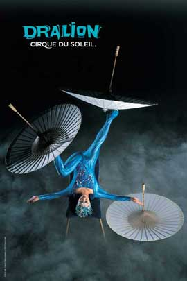 Cirque du Soleil - Dralion - Cirque du Soleil - Dralion - 24 x 36 Poster - Foot Juggling Act