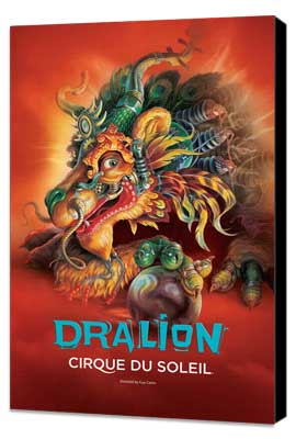 Cirque du Soleil - Dralion - 11 x 17 Cirque du Soliel Poster - Museum Wrapped Canvas