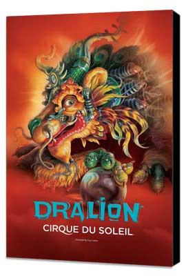 Cirque du Soleil - Dralion� - 24 x 36 Cirque du soleil Poster - Museum Wrapped Canvas