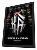 Cirque du Soleil - K�� - 11 x 17 Cirque du Soliel Poster - in Deluxe Wood Frame