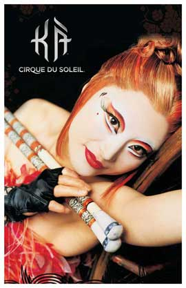 Cirque du Soleil - K�� - 11 x 17 Poster - Chief Archer's Daughter
