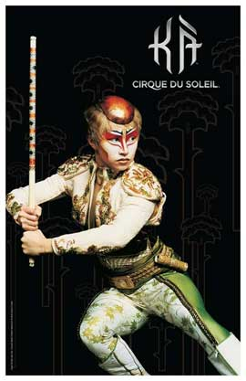 Cirque du Soleil - K�� - 11 x 17 Poster - Twin Brother