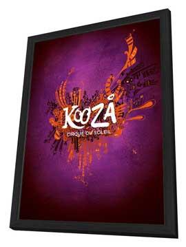 Cirque du Soleil - Kooza� - 24 x 36 Cirque du soleil Poster - in Deluxe Wood Frame