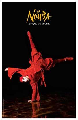 Cirque du Soleil - La Nouba� - 11 x 17 Poster - Peirrot