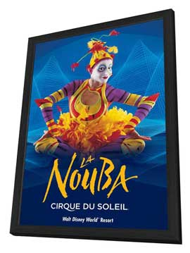 Cirque du Soleil - La Nouba� - 11 x 17 Cirque du Soliel Poster - in Deluxe Wood Frame