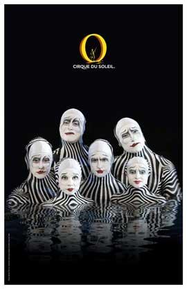 Cirque du Soleil - - 11 x 17 Poster - The Zebras
