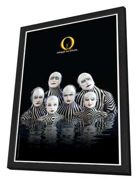 Cirque du Soleil - - 11 x 17 Poster - The Zebras - in Deluxe Wood Frame