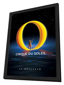 Cirque du Soleil - - 24 x 36 Cirque du soleil Poster - in Deluxe Wood Frame