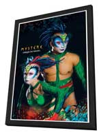 Cirque du Soleil - Mystere™ - 11 x 17 Poster - The Green Lizards - in Deluxe Wood Frame