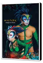Cirque du Soleil - Mystere™ - 11 x 17 Poster - The Green Lizards - Museum Wrapped Canvas