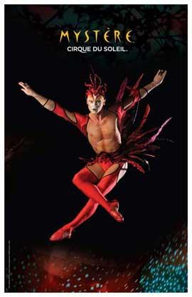 Cirque du Soleil - Mystere� - 11 x 17 Poster - Red Bird