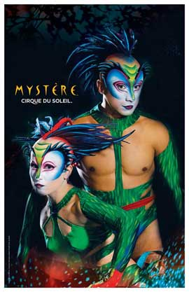 Cirque du Soleil - Mystere� - 11 x 17 Poster - The Green Lizards