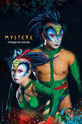 Cirque du Soleil - Mystere� - Cirque du Soleil - Mystere� - 24 x 36 Poster - The Green Lizards