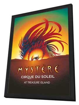 Cirque du Soleil - Mystere� - 24 x 36 Cirque du soleil Poster - in Deluxe Wood Frame