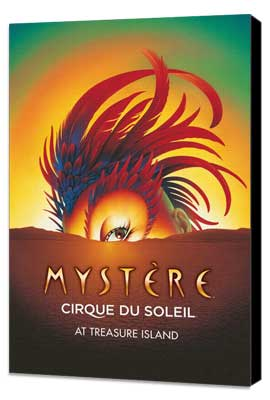 Cirque du Soleil - Mystere� - 11 x 17 Cirque du Soliel Poster - Museum Wrapped Canvas