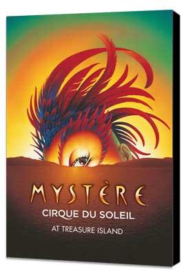 Cirque du Soleil - Mystere� - 24 x 36 Cirque du soleil Poster - Museum Wrapped Canvas