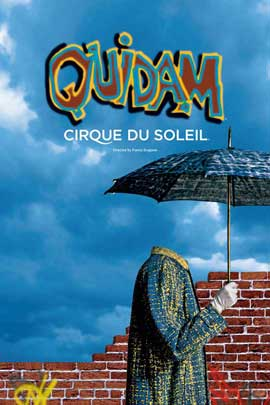 Cirque du Soleil - Quidam� - 24 x 36 Cirque du soleil Poster
