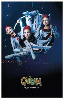 Cirque du Soleil - Quidam� - 11 x 17 Poster - Aerial Hoops