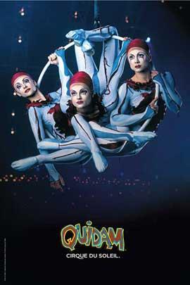 Cirque du Soleil - Quidam� - Cirque du Soleil - Quidam� - 24 x 36 Poster - Aerial Hoops